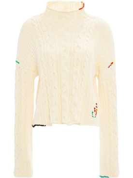 J.w. Anderson - Cropped Jumper Top - Women