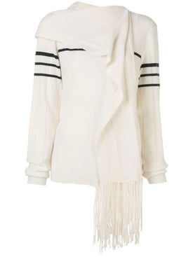 J.w. Anderson - Fringe Scarf Knitted Sweater - Women