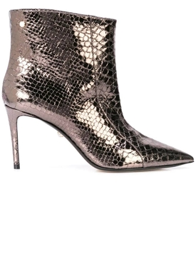 Alexis metallic ankle boots