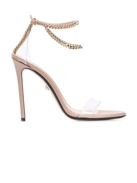 Valentina chain strap heels