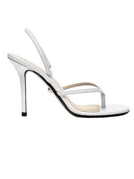 White Gina Sandals