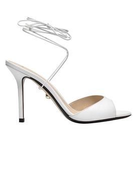White Dora Sandal