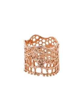 Lace Bague Rose Gold Ring