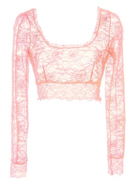 Dundas - Lace Crop Top - Women