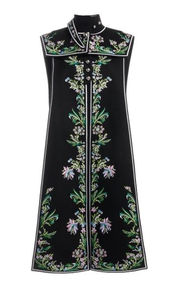 Paco Rabanne Vests Embroidered Vest P001 Black