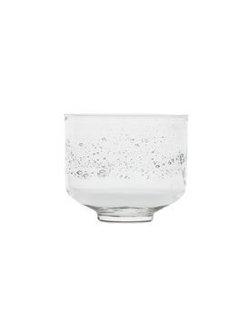 Small Bruine Glass Clear
