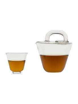 Tea Bag Tea Pot CLEAR