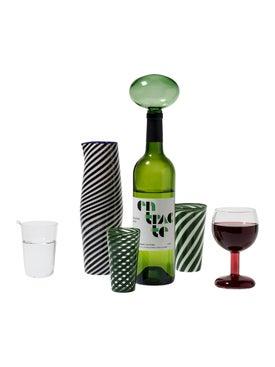 Laurence Brabant - Green Entracte Bottle Stopper - Serveware
