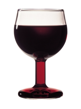 VERRE ROUGE Wine Glass Clear