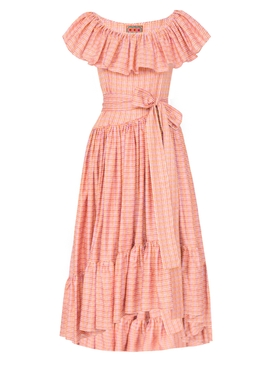 Jungle Island Dress, Pink PINK