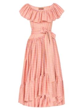 Jungle Island Dress, Pink PINK