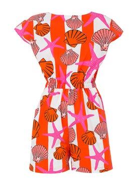 Lhd - Surfclub Multicolor Romper Pink - Jumpsuits