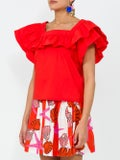 Lhd - The Vizcaya Top, Red - Women