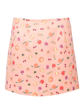 Citadelle Mini Skirt, Peach