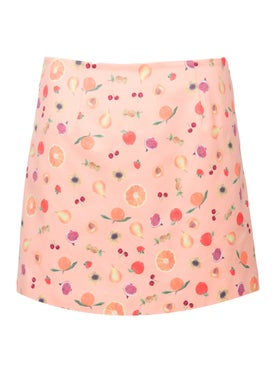 Lhd - Citadelle Mini Skirt, Peach - Women