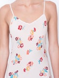 Lhd - Elvira Slip Dress, Floral Poppy Print - Women