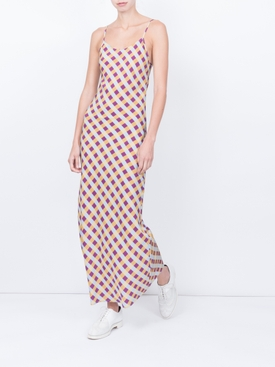 Elvira Slip Dress, Gingham