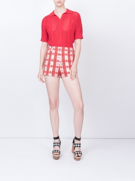 Pearl Shorts, Gingham