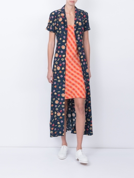 The Marlin Dress, Fruits and Gingham