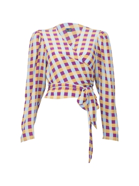 Lhd - Odalys Blouse, Gingham - Women