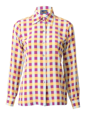 Lhd - Star Island Blouse, Gingham - Women