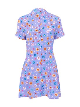 Lhd - Clemenceau Dress, Floal Print Mauve - Women