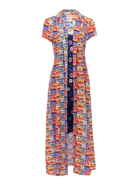 Lhd - The Marlin Dress, Villas And Floral - Women