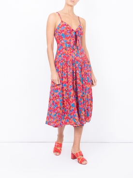 Bright French Fig Ad'ele Dress