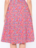 Lhd - Bright French Fig The Bardot Skirt - Women
