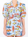 Lhd - Casitas Dress, Blue Corsican Trout - Women