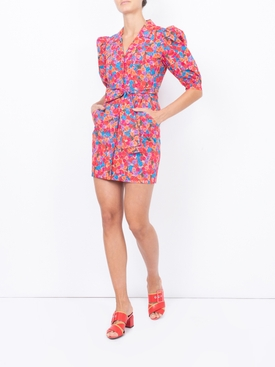 Bright French Fig Casitas Dress