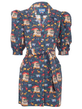 THE CASITAS DRESS, Quirky Farm Animals