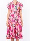 Lhd - Glades Dress, Pink Corsican Trout - Women