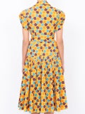 Lhd - Yellow Retro Blossom The Glades Dress - Women