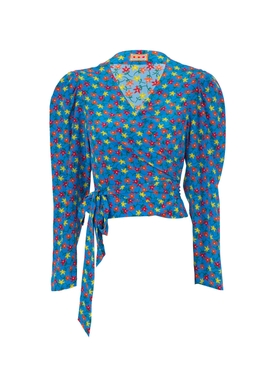 Odalys Blouse, Teal