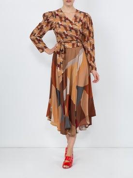 Lhd - Bonifacio Abstract French Riviera Skirt - Women