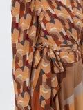 Lhd - Bonifacio Abstract Odalys Blouse Neutral - Women