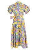 Lhd - Glades Dress Floral Blue - Women