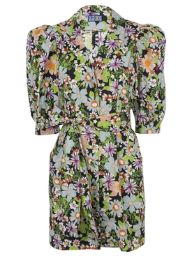 Lhd - Casitas Dress Floral Black - Women