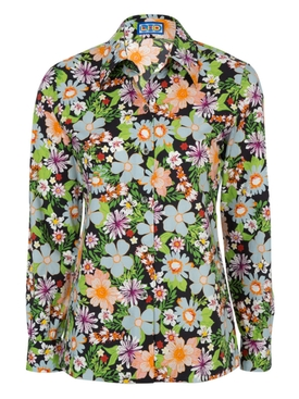 Lhd - Star Island Blouse Floral Blue - Women