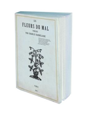 Les Fleurs Du Mal Blank Notebook