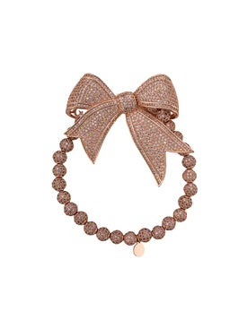 Lord And Lord Designs - Crystal Embellished Bow Bracelet - Women