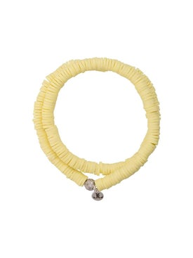 Lord And Lord Designs - Tribal Wrap Bracelet Yellow - Women