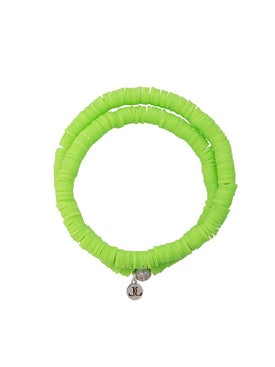 Lord And Lord Designs - Tribal Wrap Bracelet Neon Green - Women