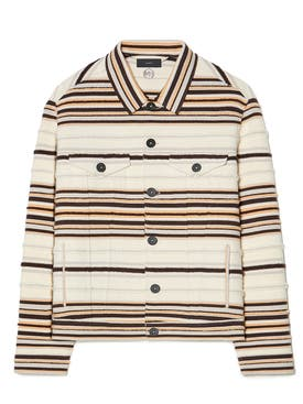 Alanui - White Sarape Cashmere Jacket - Men