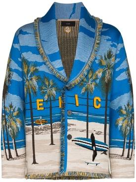 Venice Beach Landscape Cardigan