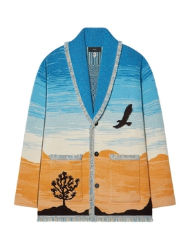 Multicolored Joshua Tree Cardigan