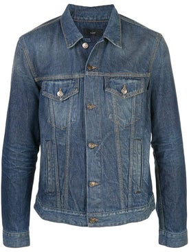 Alanui - Rear Bandana Knit Denim Jacket - Men