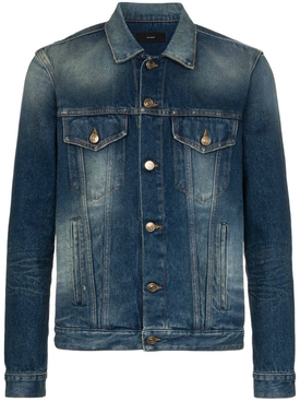Alanui - Sarape Knit Denim Jacket - Men