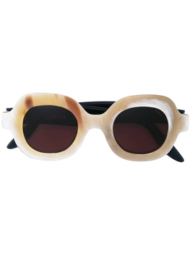 Cream Catarina Sunglasses